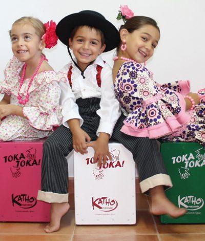 Mini-Kathos para chiquillos flamencos de primera